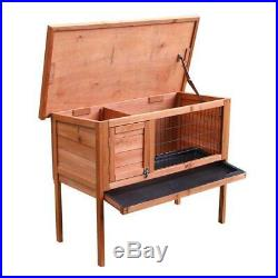 36 Wooden Hen House Chicken Coop Backyard Farm Poultry Cage Outdoor Hutch