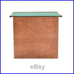 48 Wooden Rabbit Hutch Chicken Coop Cage Hen House Pet Poultry Animal Backyard