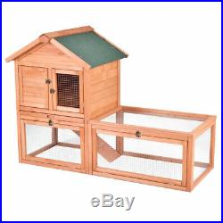 56 Pet Supplies Wooden House Rabbit Hutch Chicken Coops Cage