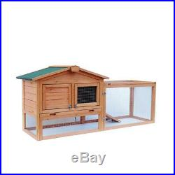 61Chartwell Double XL Rabbit Hutch Guinea Pig Cage Wooden Deluxe Pet House