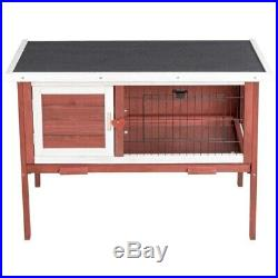 Fir Wooden Rabbit Chicken Small Animal Cage House with Tray High Quality 40lbs