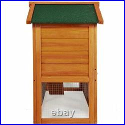 Giant Wood Wooden Rabbit Chicken Cat Dog Small Pets Hutch and Coop House US