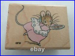Lot of 13 Beatrix Potter Peter Rabbit Wood Stamps- Stampendous & All Night Media