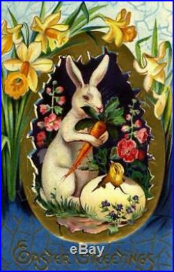 NEW Liberty Puzzles Classic Wooden Jigsaw Puzzle Spring Easter Rabbit Bunny NIB
