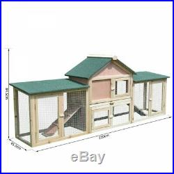 NEW Wooden Rabbit Hutch Wooden Chicken Pens Coops Hutches