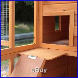 Outdoor Cat Pet House Play Run Enclosure Wooden Fun Small Animal Shelter Tunnel