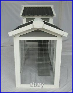 Seny Wooden Pet House Rabbit Bunny Wood Hutch House Chick Coop Rabbit Cage